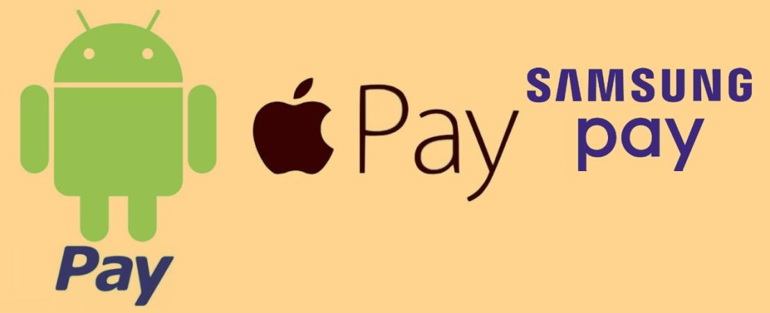 Apple Pay vs. Android Pay vs. SamsungPay