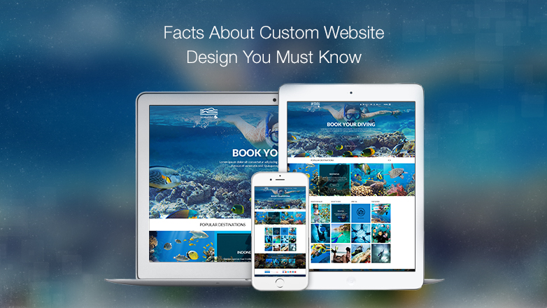 4 Myths of Custom Website Design Which You Must Know